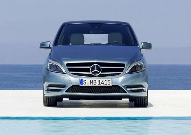 Mercedes-Benz pracuje na sedmisedadlové třídě B