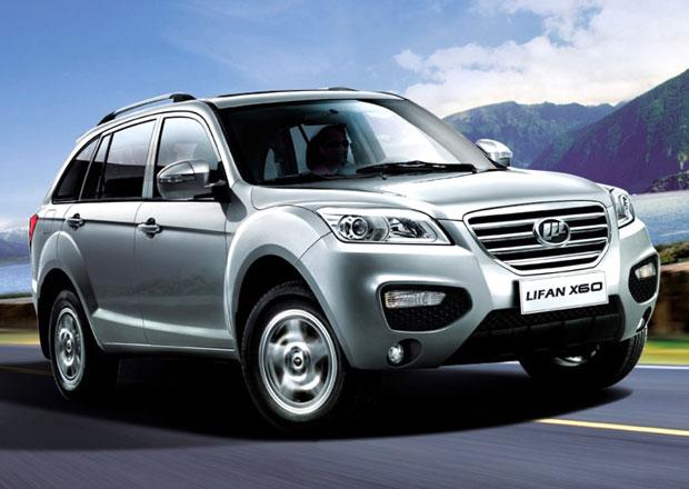 Čínský Lifan X60 bude v Rusku konkurovat Dusteru