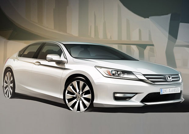 Americká Honda Accord i pro Evropu?