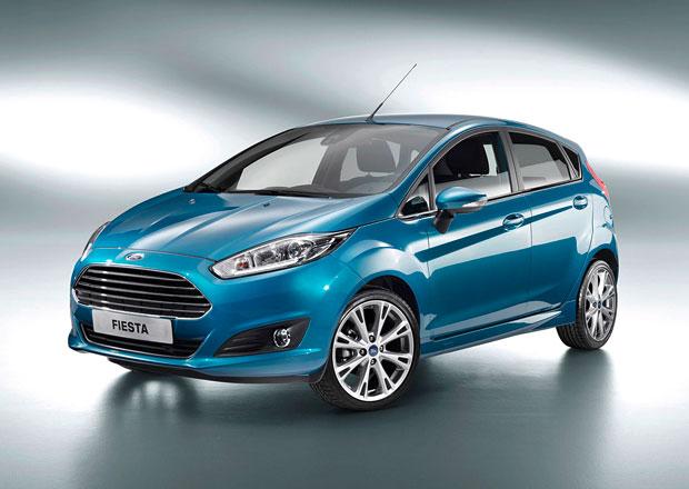 Ford Fiesta 2013: Tříválcový EcoBoost a nová elektronika
