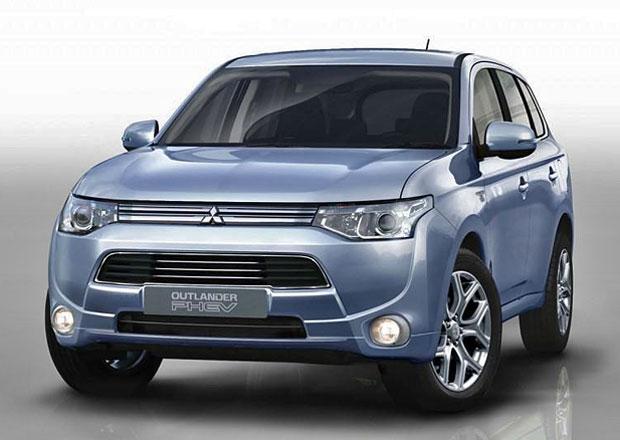 Mitsubishi Outlander PHEV spotřebuje jen 1,64 litru benzinu na 100 km