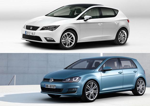 VW Golf vs. SEAT Leon: Designový duel