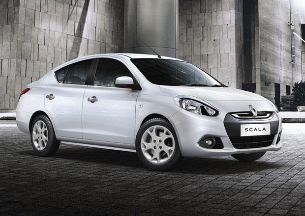 Renault Scala na nových fotografiích