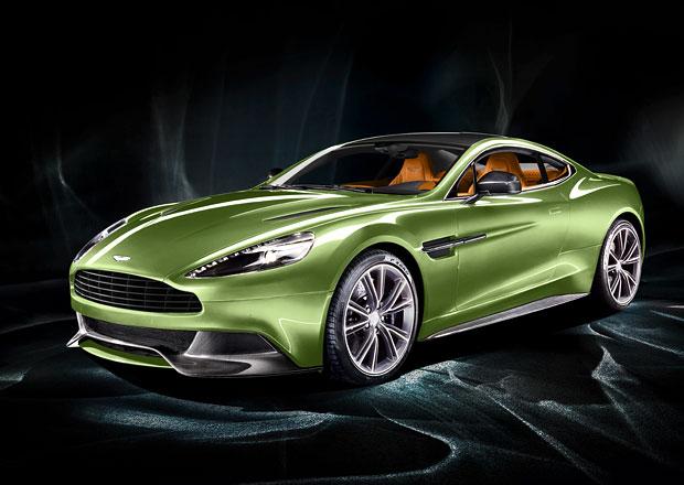 Aston Martin Vanquish na nových fotografiích i na videu