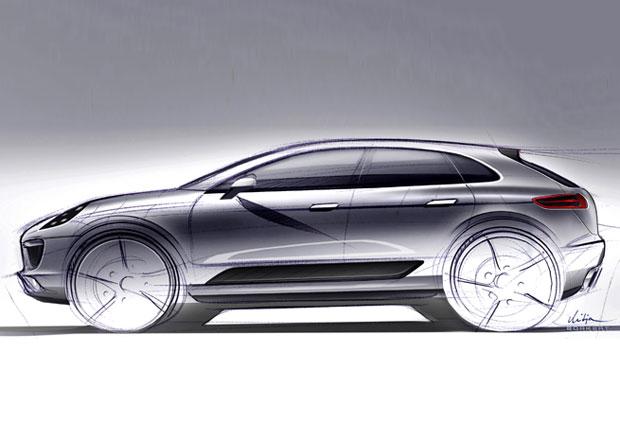 Vzhled Porsche Macan se inspiroval Range Roverem Evoque