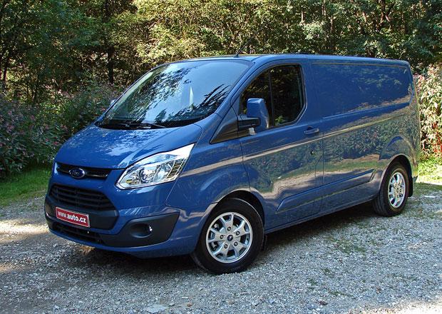 Ford Transit Custom a Tourneo Custom: První jízdní dojmy