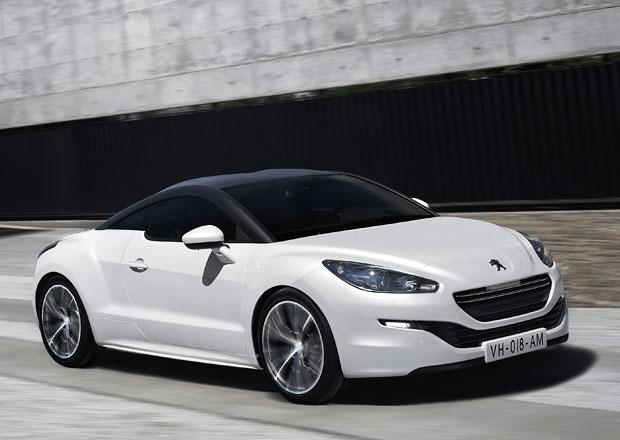 Peugeot RCZ: Nová příď a širší možnosti individualizace (Doplněno video)