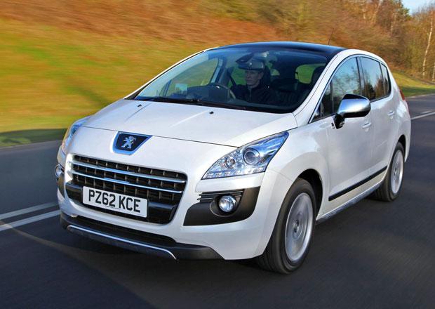 Peugeot 3008 HYbrid4 sníží emise CO<sub>2</sub> na 91&nbspg/km