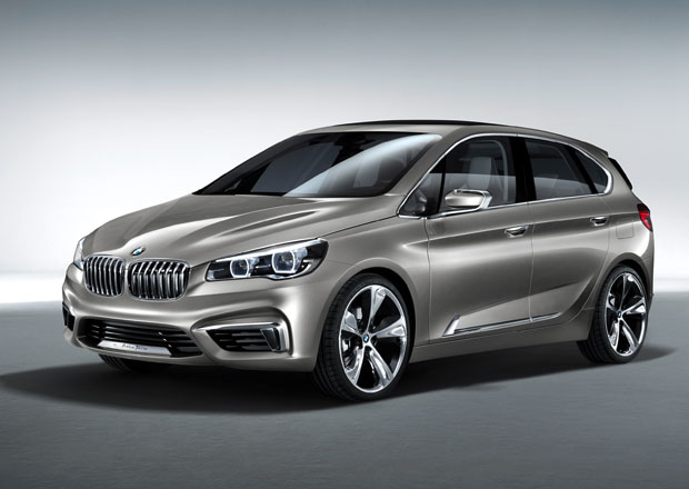 BMW �okuje studi� Active Tourer Concept: M� t��v�lec 1,5 l a pohon p�edn�ch kol