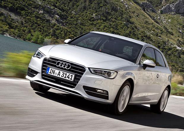 Nové Audi A3 začíná na českém trhu na 555.300 Kč za 1,4 TFSI