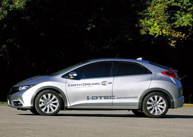 Honda ukáže v Paříži Civic s novým turbodieselem, ale i CR-V a CR-Z
