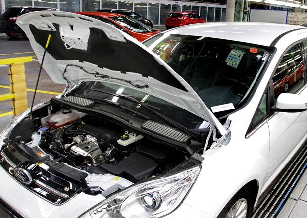 Ford spustil výrobu C-MAXu s tříválcem 1,0 EcoBoost