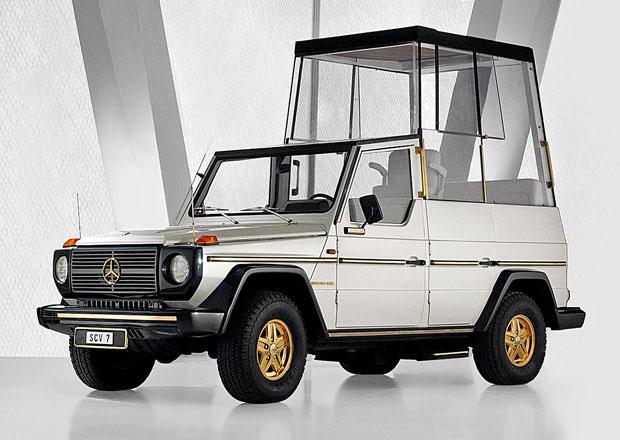 Automobil ve službách Vatikánu: Od nosítek k terénnímu Mercedesu