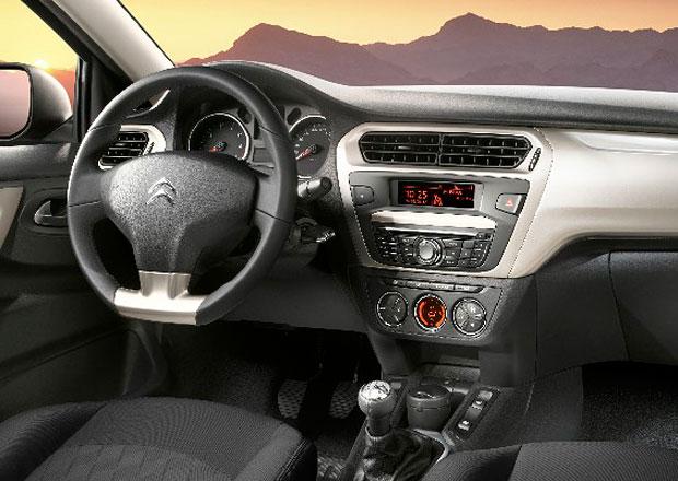 Konkurent Rapidu Citroën C-Elysée ukazuje interiér (+video)