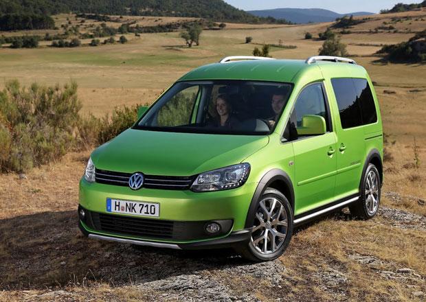 Volkswagen Cross Caddy: Malá dodávka do terénu