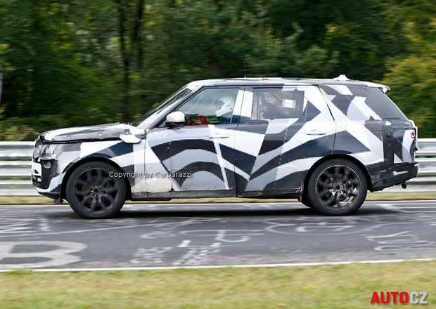 Spy Photos: Prodlou�en� Range Rover