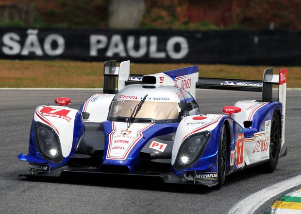 Hybridní Toyota TS030 zvítězila v brazilském Sao Paulu