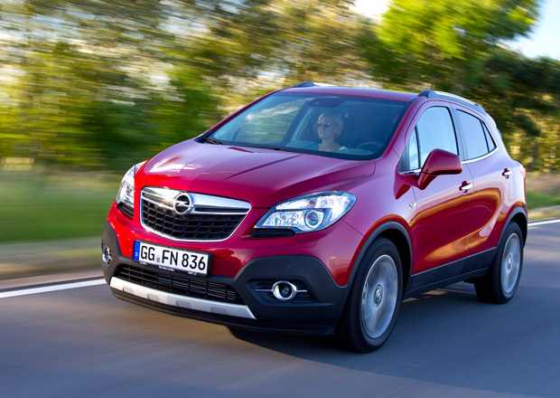 Opel Mokka na nových fotografiích, dostane kompletní bezpečnostní výbavu