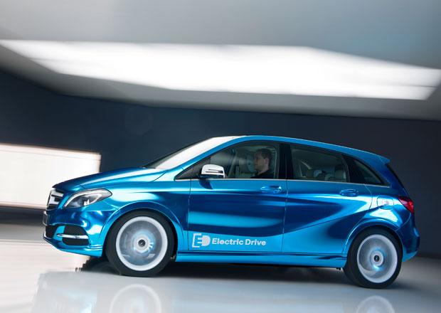 Elektrický Mercedes-Benz B přijede do Paříže