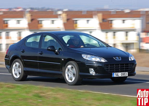 Bazar: Peugeot 407 - Rodinné kupé