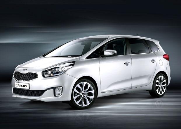 Kia Carens: Ceny kompaktního MPV začínají pod 400.000 Kč