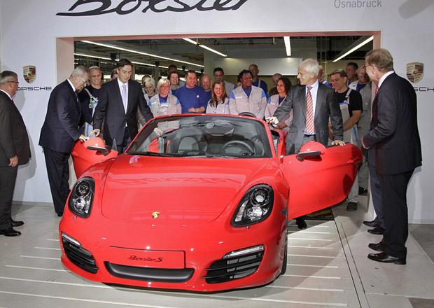 Volkswagen zahájil ve své továrně výrobu Porsche Boxster
