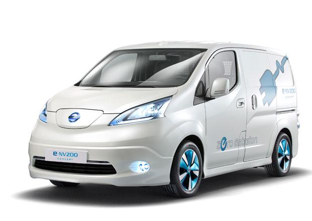 Nissan e-NV200 v dod�vkov�m proveden� odhalen