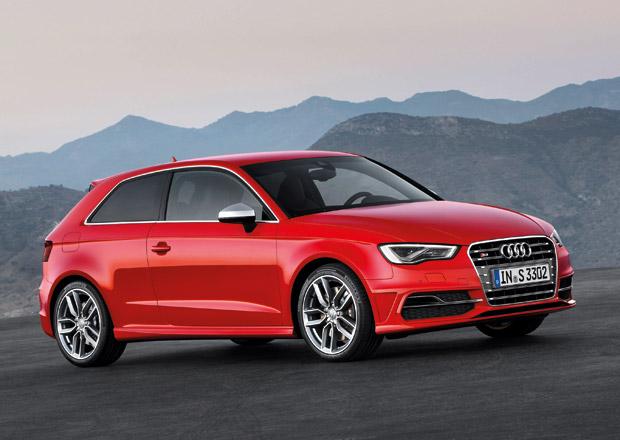 Audi S3 má 300 koní, stovku zvládne za 5,1 sekundy