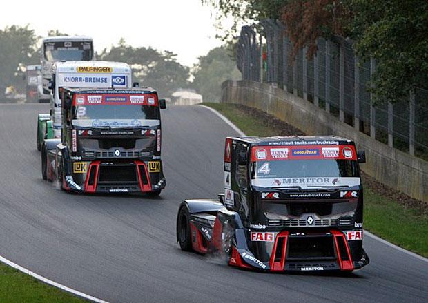 Mistrovství Evropy trucků 2012: Zlato a stříbro pro Adama Lacka