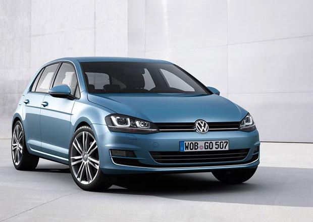 VW Golf s 1,2 TSI v Česku od 339.900 Kč; ve výbavě má dotykový displej, klimu i pět dveří