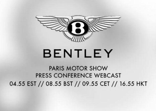 P��m� p�enos z Pa��e: Bentley odhaluje svoje p�ekvapen�
