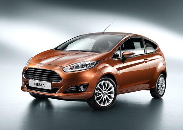 Ford Fiesta dostane čtyři různé tříválce; ECOnetic má spotřebu 3,3 l/100 km