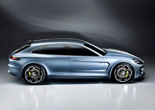 Porsche Panamera Sport Turismo Concept je hybridn� kombi s 306 kW (dopln�no video)