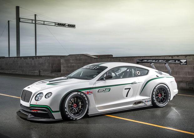 Bentley Continental GT3 m��� na z�vodn� okruhy (dopln�no video)