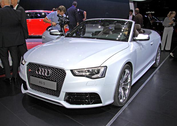 Audi RS 5 Cabriolet: Atmosférický osmiválec a plátěná střecha