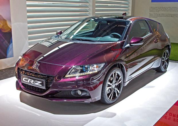 Honda CR-Z 2013 má 137 koní a KERS