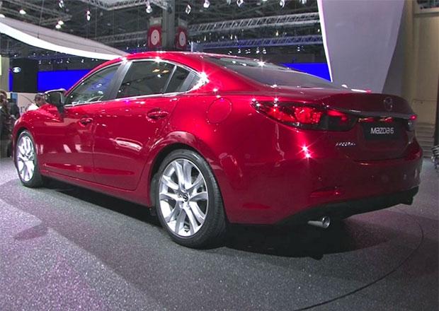 Video z výstaviště: Mazda 6 a MX-5 naživo