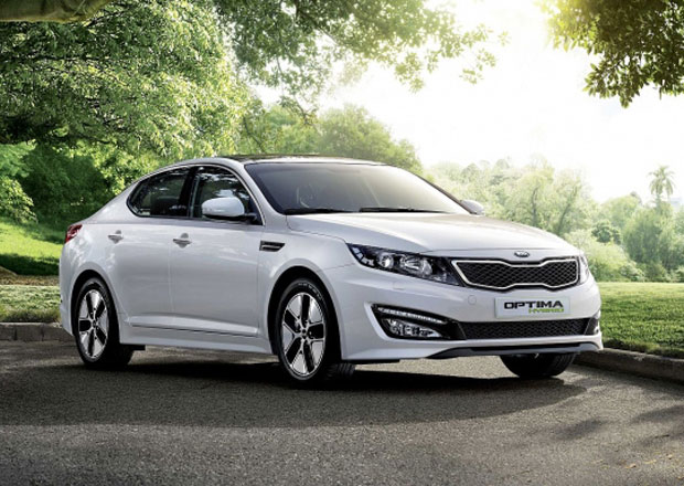 Kia Optima Hybrid: První evropská hybridní Kia