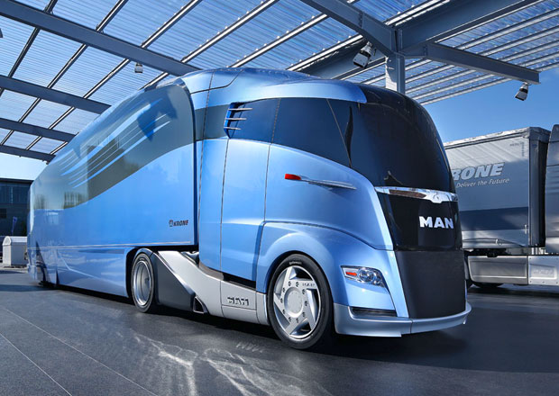 MAN Concept S: Aerodynamický tahač i návěs