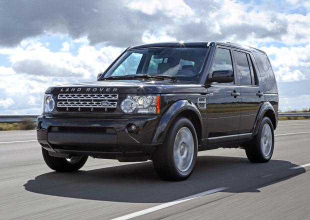Land Rover Discovery 4 pro modelový rok 2013 dostal lehké retuše