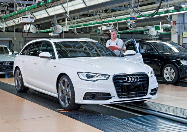 Audi přerušilo výrobu v továrně Neckarsulm