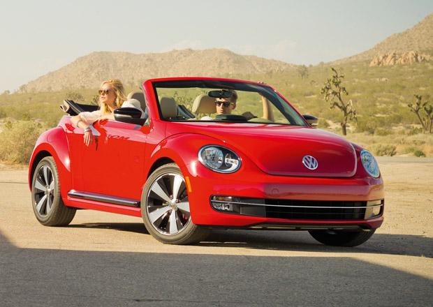 Volkswagen Beetle Cabriolet p�ij�d� s pl�t�nou st�echou a sedmi motory