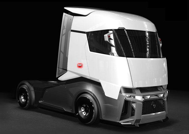 Renault Trucks CX/03: Aerodynamická budoucnost