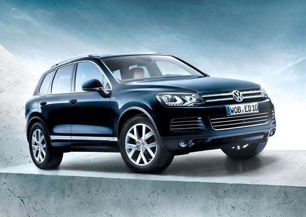 Volkswagen slav� 10 let Touaregu s�ri� Edition X