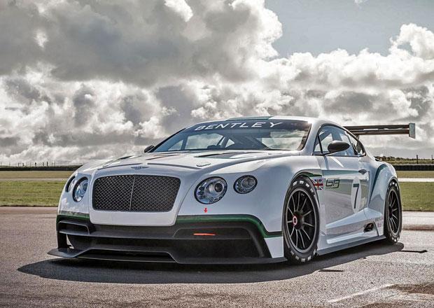 Bentley Continental GT3 přijede i ve verzi pro silniční provoz