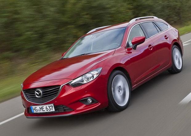 Mazda 6 na nových fotografiích