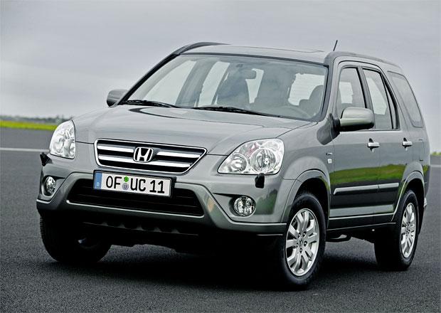 Honda bude svolávat CR-V kvůli elektrickému stahování oken