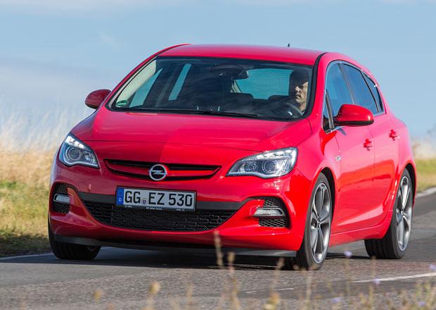 Opel Astra BiTurbo bude stát 625 tisíc korun