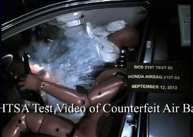Neoriginální airbagy mohou být podle NHTSA životu nebezpečné (+video crash testu)