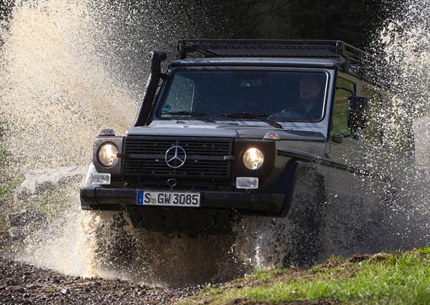 Mercedes chyst� men�� offroad ne� t��da G